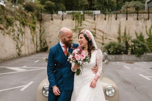 Opiniones clientes Sara y Jamie Berezi Moments wedding planner