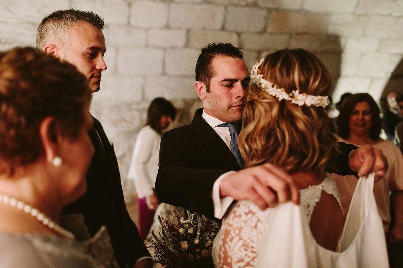Llegada novia Alicia Rueda Boda Ide y Rubén Berezi Moments wedding planner