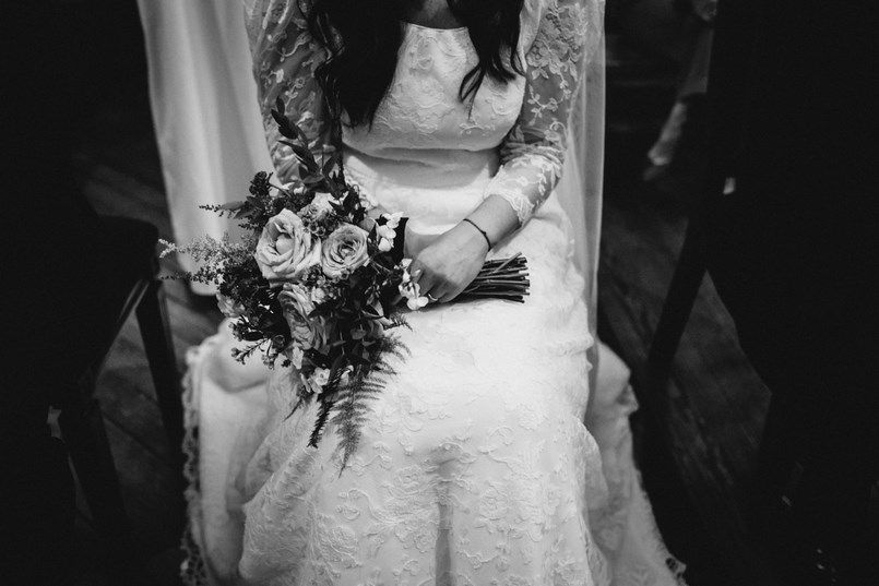Ramo novia Flores Elorz Bilbao Sara y Jamie Berezi Moments wedding planner