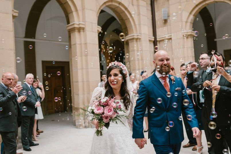 Boda Universidad de Deusto Bilbao Sara y Jamie Berezi Moments wedding planner