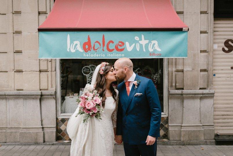 La Dolce Vita Boda en Bilbao Sara y Jamie Berezi Moments wedding planner