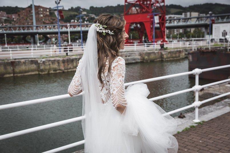 Ría de Bilbao Alicia Rueda Boda Iratxe y David Foto María Izkue Berezi Moments wedding planner