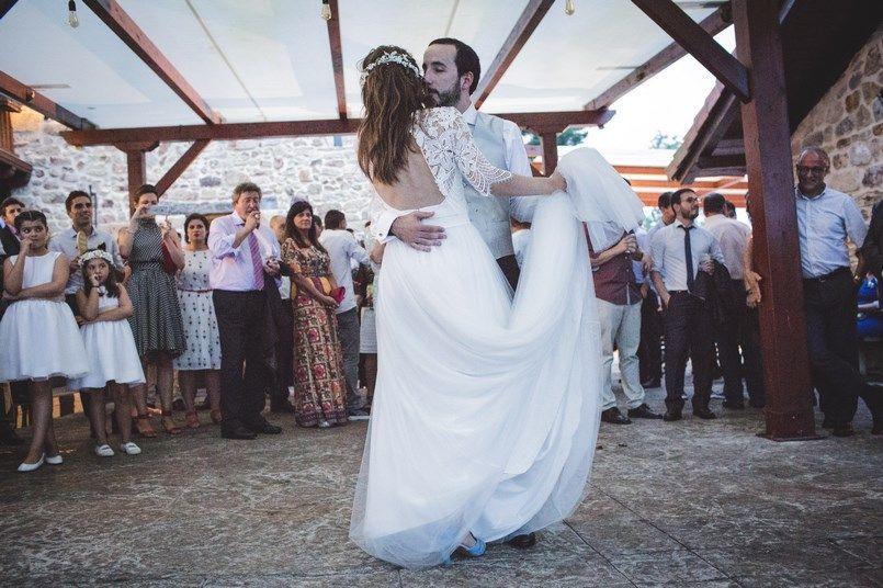 Baile novios Alicia Rueda Horma Ondo Boda Iratxe y David Foto María Izkue Berezi Moments wedding planner