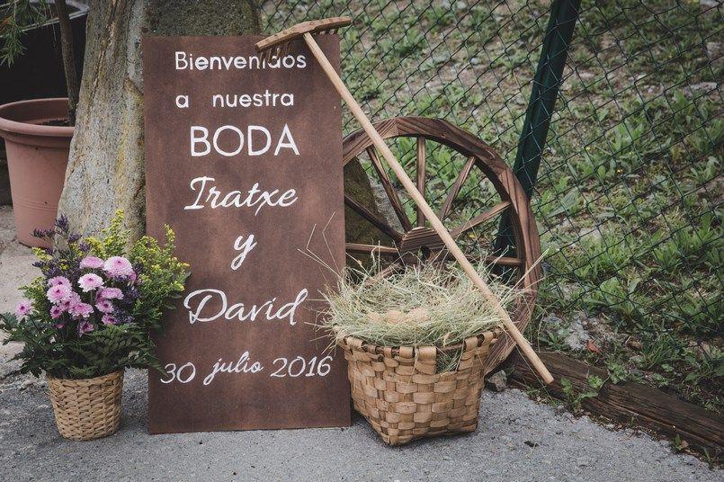 Rincón bienvenida Horma Ondo Boda Iratxe y David Foto María Izkue Berezi Moments wedding planner