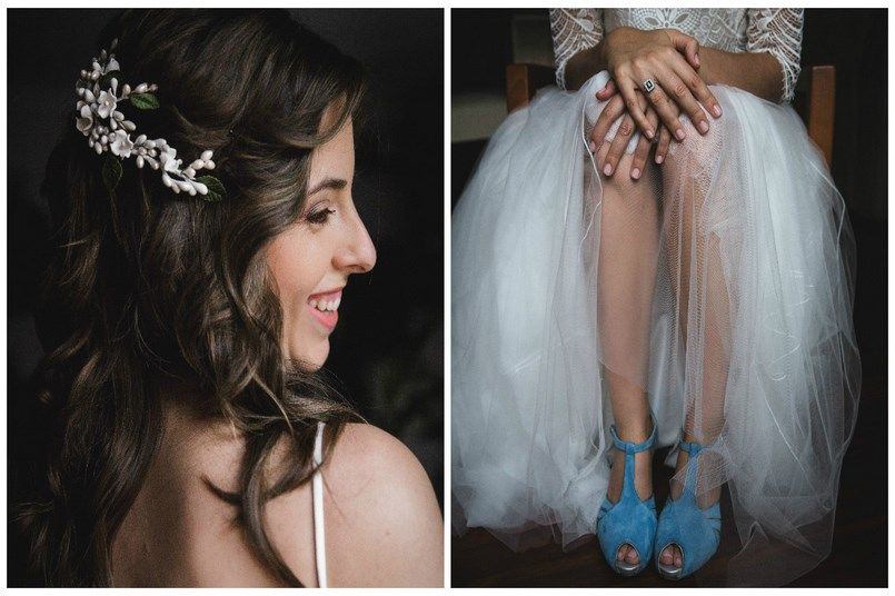 Zapatos novia de color Buttari Iratxe y David en Bilbao Foto María Izkue Berezi Moments wedding planner