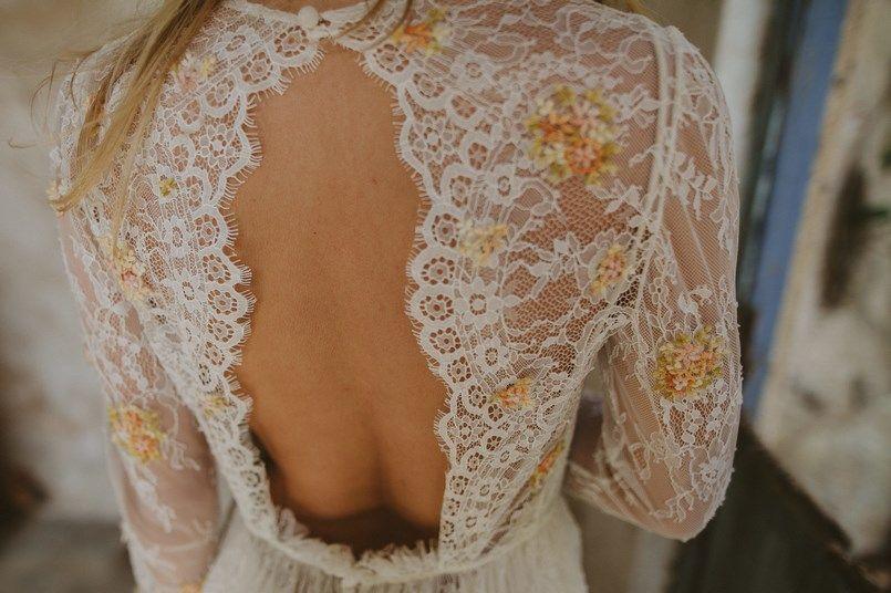 Immacle Tanger vestidos novia boho