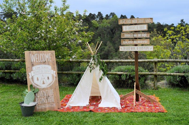 Camp School Bodas de Cuento Berezi Moments wedding planner