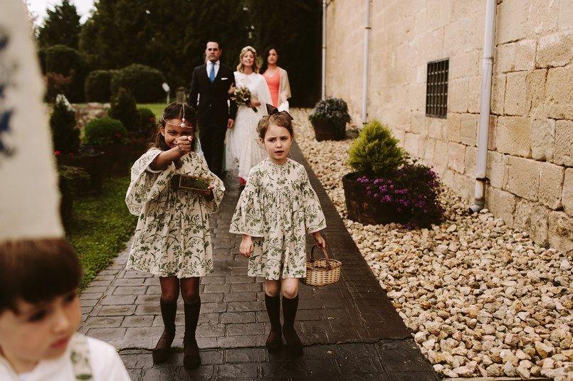 Damas y pajes bodas Marta Ussia Boda Ide y Rubén Berezi Moments wedding planner
