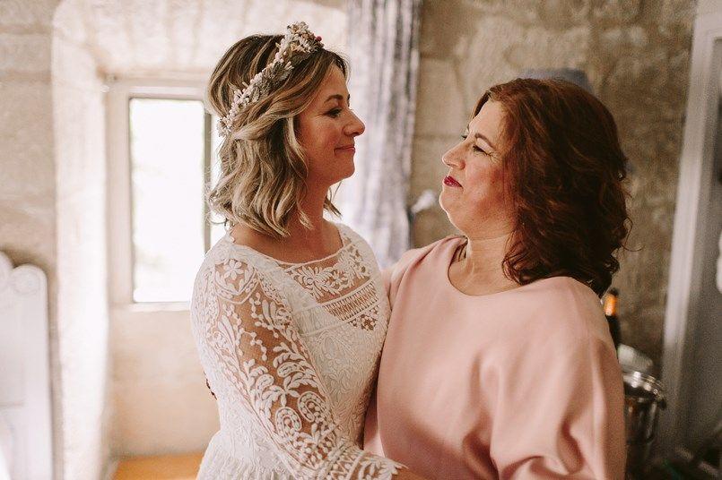 Alicia Rueda vestidos de novia Boda Ide y Rubén Berezi Moments wedding planner