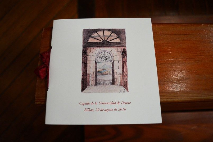 Misales Micrapel boda Bilbao Sara y Jamie Berezi Moments wedding planner