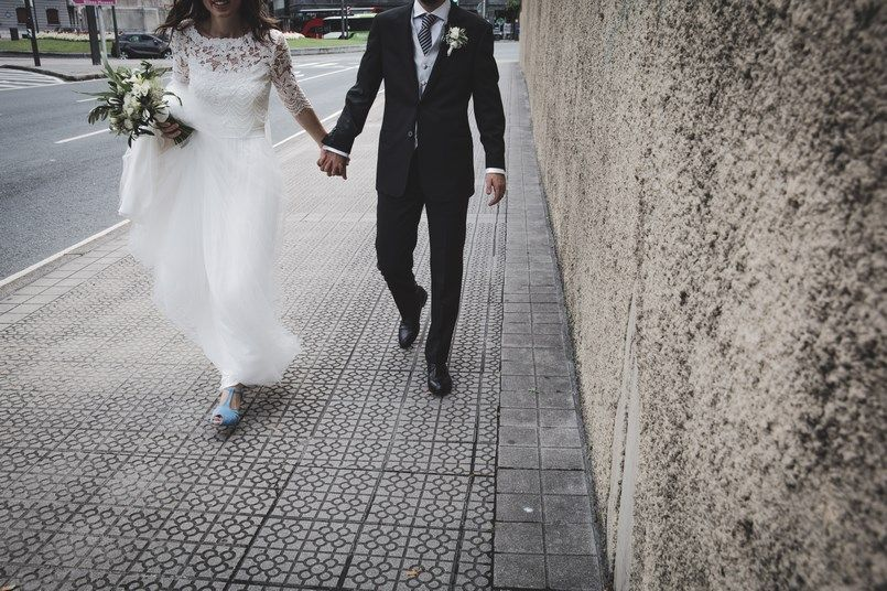 La baldosa de Bilbao Boda Iratxe y David en Bilbao Foto María Izkue Berezi Moments wedding planner