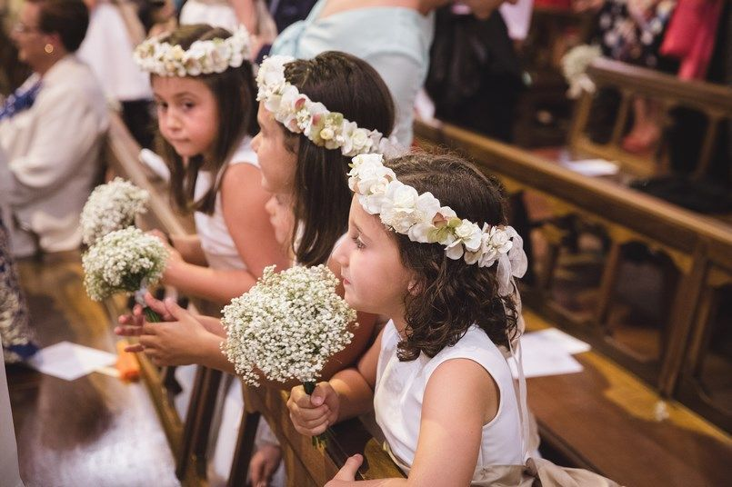 Damas y pajes Boda Iratxe y David en Bilbao Foto María Izkue Berezi Moments wedding planner
