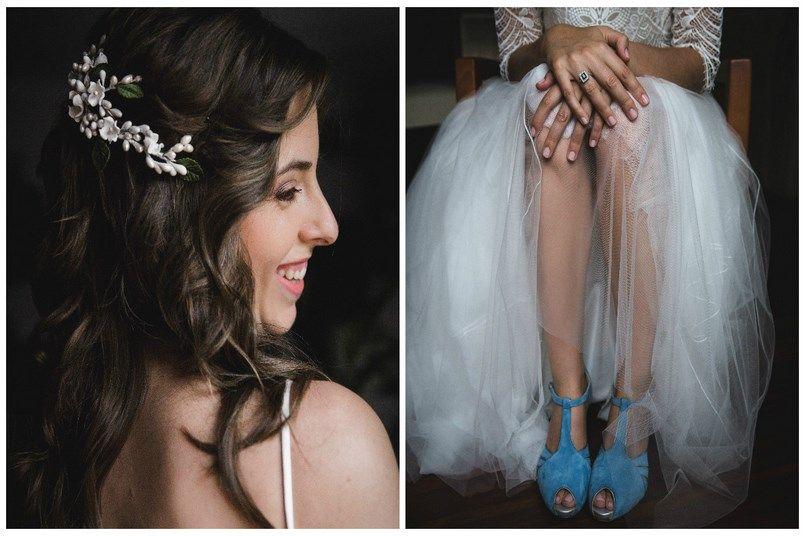 Zapatos novia de color Buttari Iratxe y David en Bilbao Foto María Izkue Berezi Moments wedding planner
