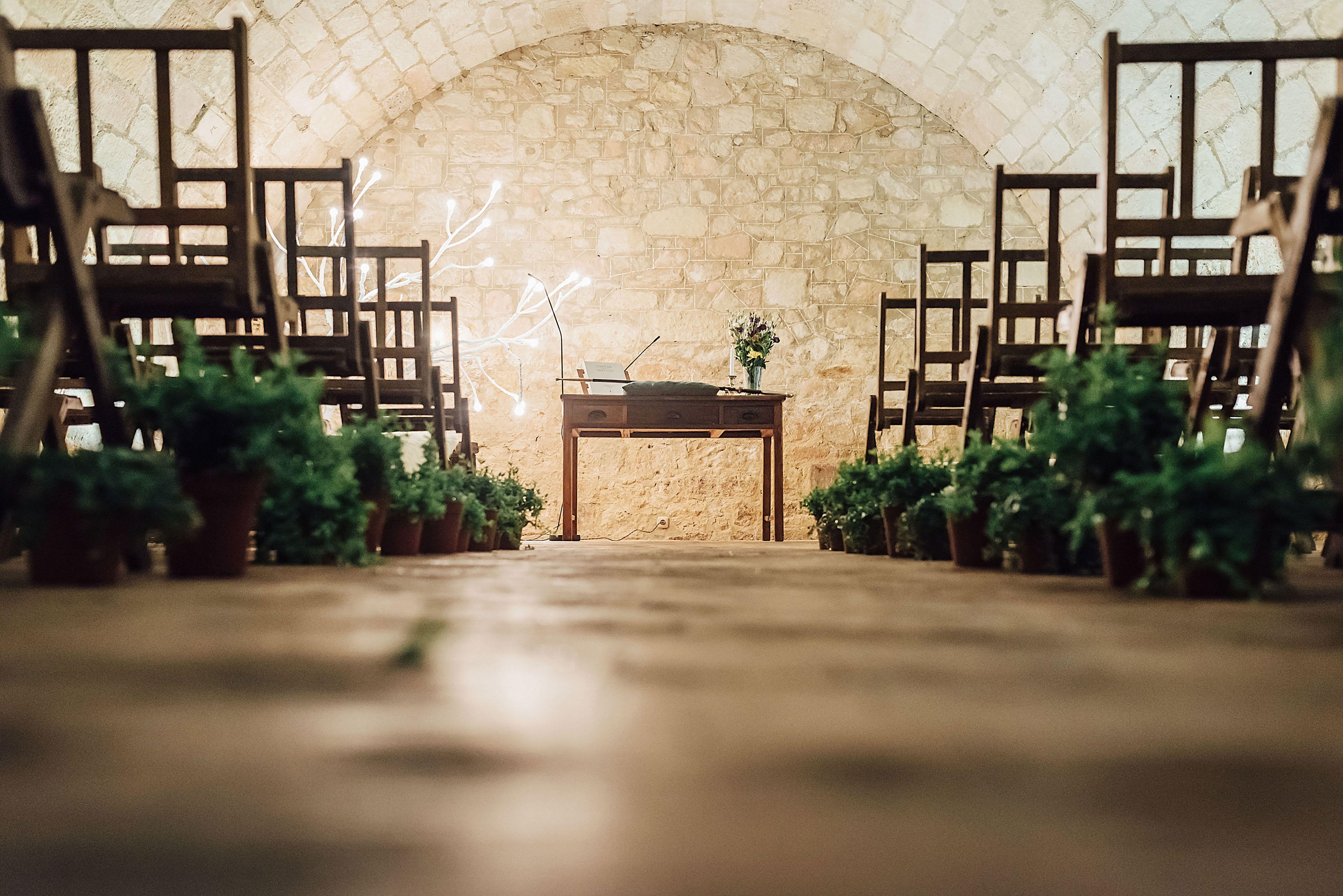Bereziboda Ide y Rubén Berezi Moments Decoración de Ceremonia, Monasterio del Espino