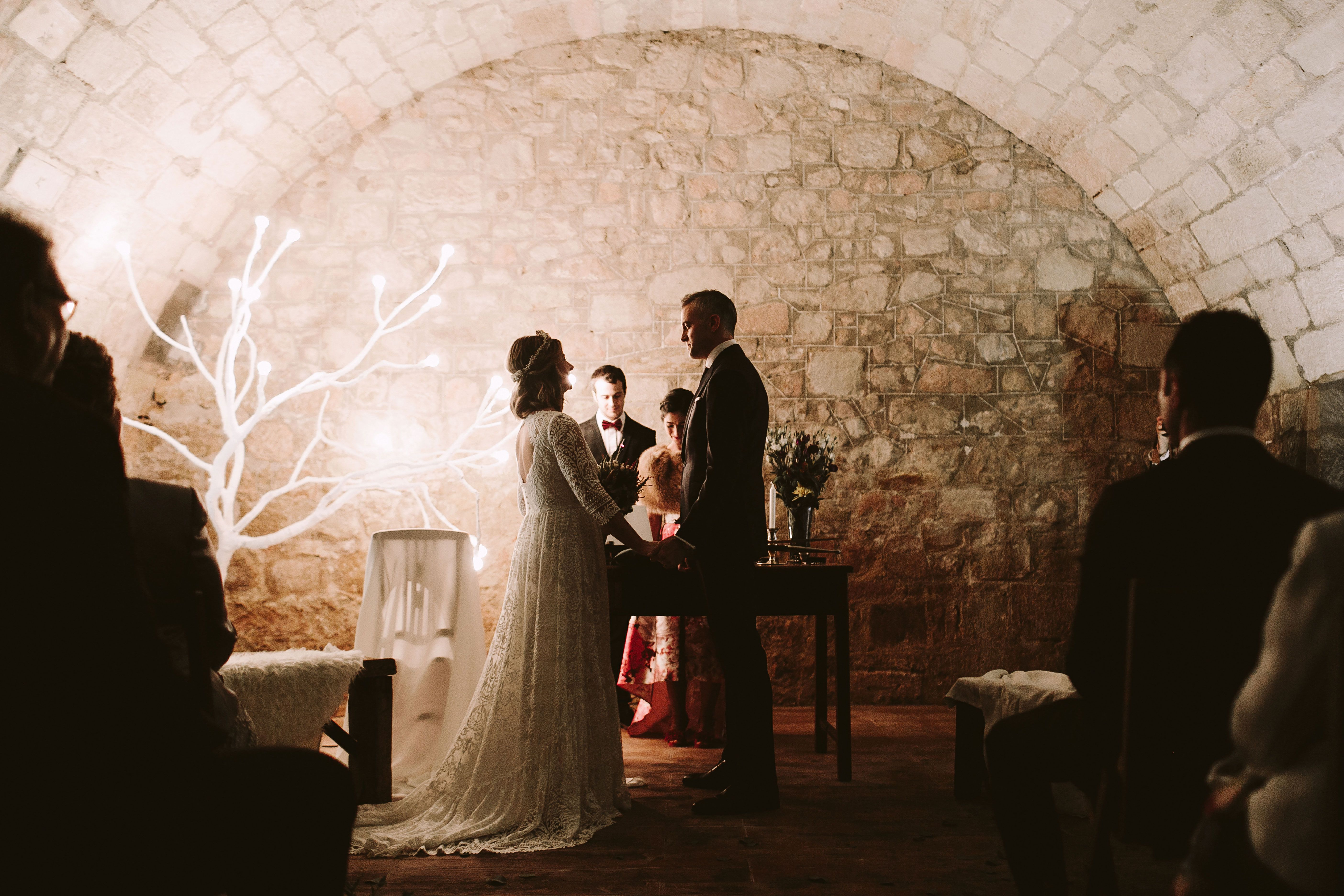 Bereziboda Ide y Rubén Berezi Moments Ceremonia Alicia Rueda Atelier Scalpers Company, Monasterio del Espino