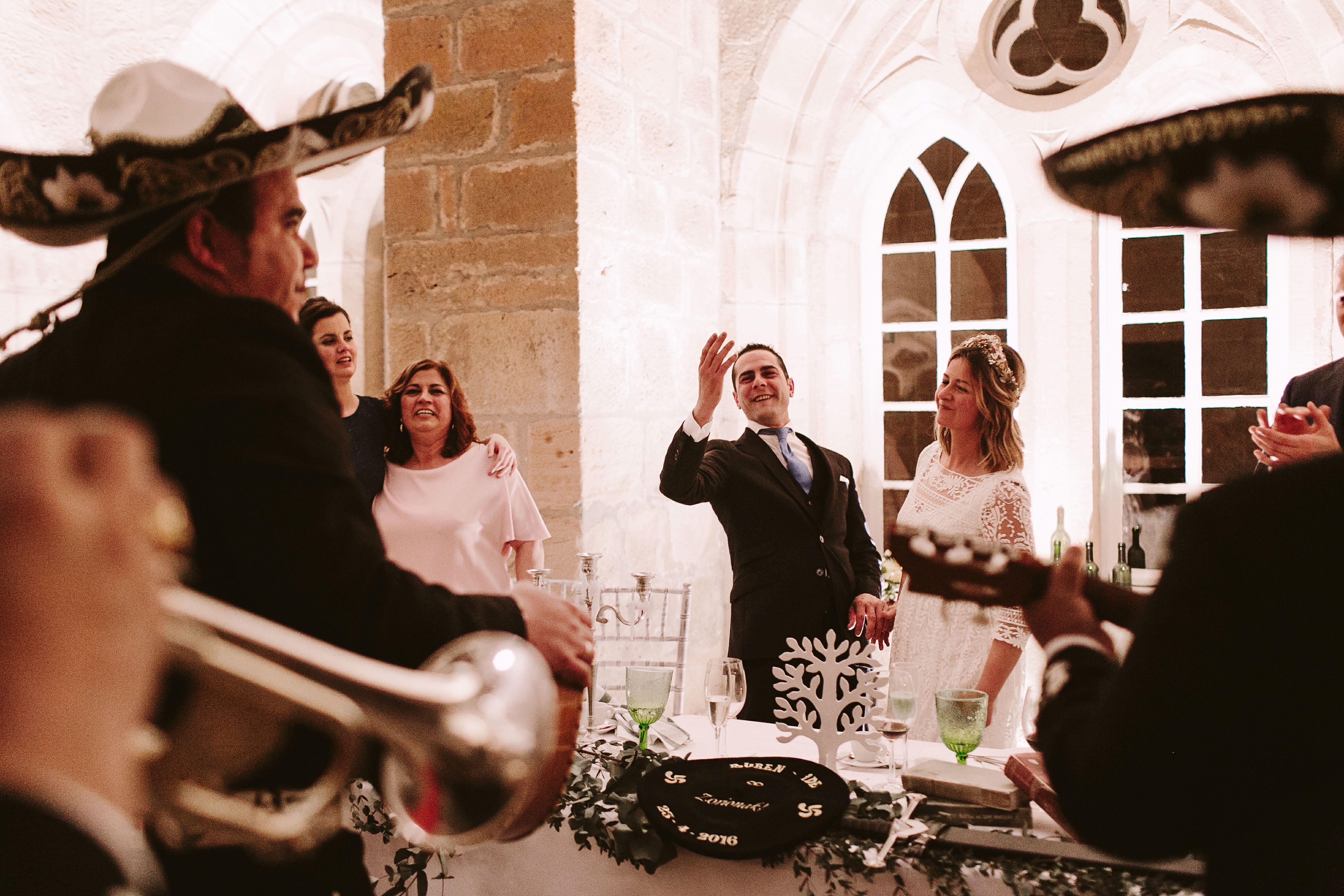 Bereziboda Ide y Rubén Berezi Moments Banquete y Mariachis, Monasterio del Espino